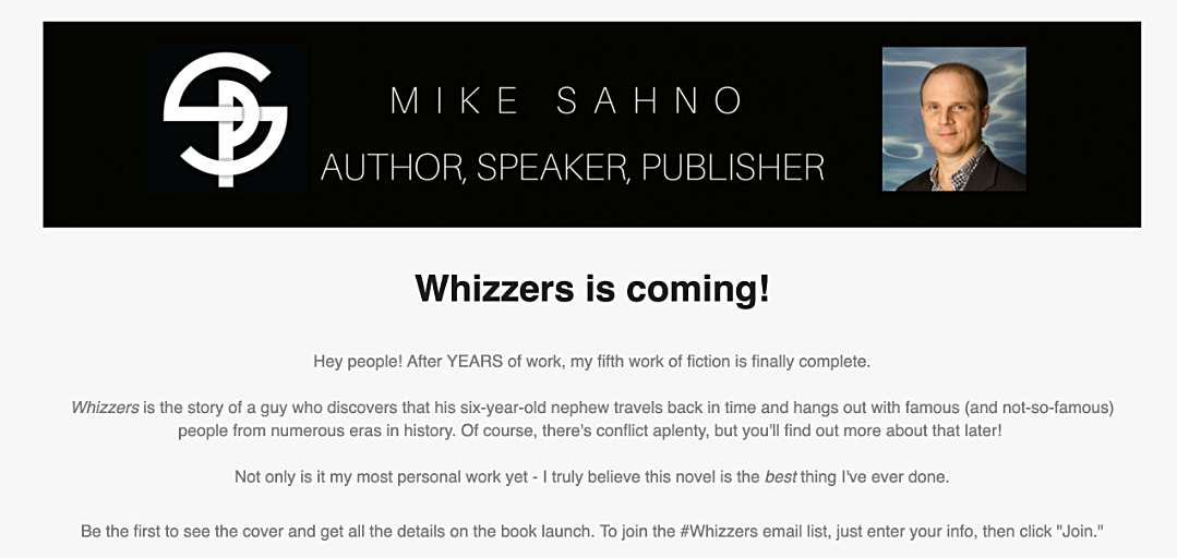Announcing The Whizzers Launch Team!